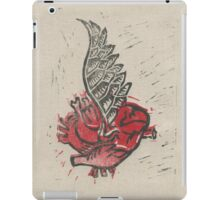 As the heart flies iPad Case/Skin