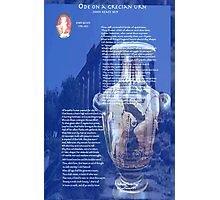 Ode On a Grecian Urn Photographic Print