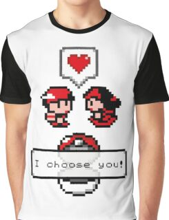 Pokemon Valentine I Choose You!  Graphic T-Shirt