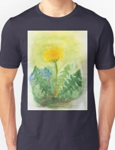Dandelion In The Garden Unisex T-Shirt