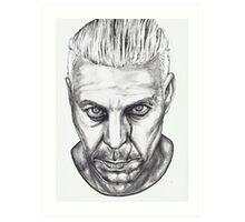 Lindemann Portrait Art Print