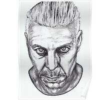 Lindemann Portrait Poster