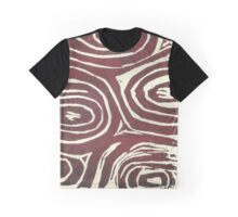 Whorls - red ombre Graphic T-Shirt