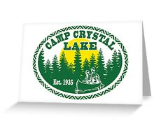 Camp Crystal Lake Greeting Card
