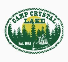 Camp Crystal Lake One Piece - Short Sleeve