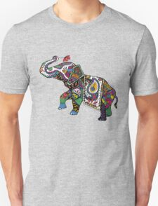 Elephant Zentangle T-Shirt
