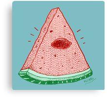 watermelons are illuminati? Canvas Print