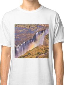 WATERFALL AFRICA ZAMBIA Classic T-Shirt