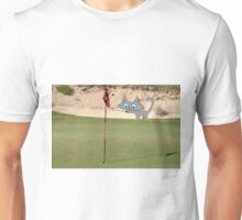 Golfing Kitty Unisex T-Shirt