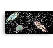Pixel Space Canvas Print