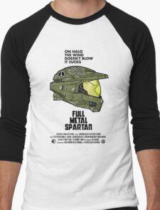 Full Metal Spartan Men's Baseball ¾ T-Shirt