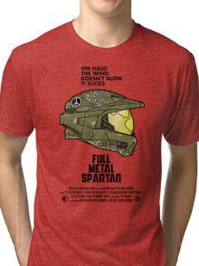 Full Metal Spartan Tri-blend T-Shirt