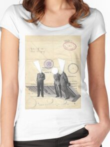 Three Brothers Women's Fitted Scoop T-Shirt