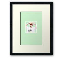 BTS Suga Framed Print