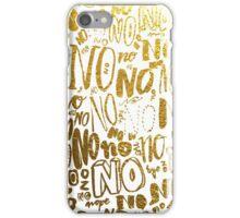 Nope iPhone Case/Skin