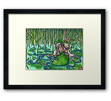 Swamp Goddess Framed Print