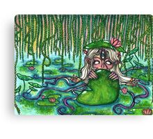 Swamp Goddess Canvas Print