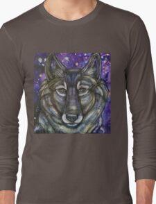 Gray Wolf Long Sleeve T-Shirt