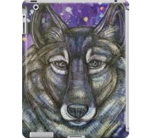 Gray Wolf iPad Case/Skin