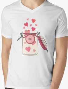 A Jar full of Love Mens V-Neck T-Shirt
