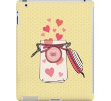 A Jar full of Love iPad Case/Skin