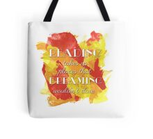 The Point of Reading Tote Bag