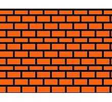 Super Mario Brick Pattern Photographic Print
