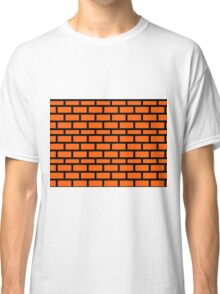 Super Mario Brick Pattern Classic T-Shirt