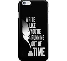 WRITE (white) - Hamilton iPhone Case/Skin