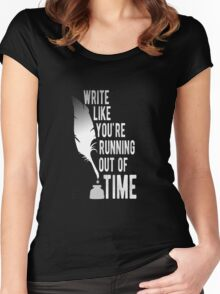 WRITE (white) - Hamilton Women's Fitted Scoop T-Shirt