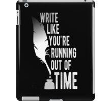 WRITE (white) - Hamilton iPad Case/Skin