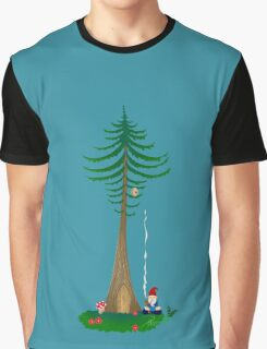 Chill Om Gnomie PNW Gnome  Graphic T-Shirt