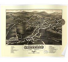 Whitefield, Coos County, New Hampshire (1883) Poster