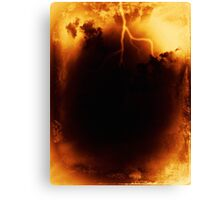Entrance to Hell Canvas Print
