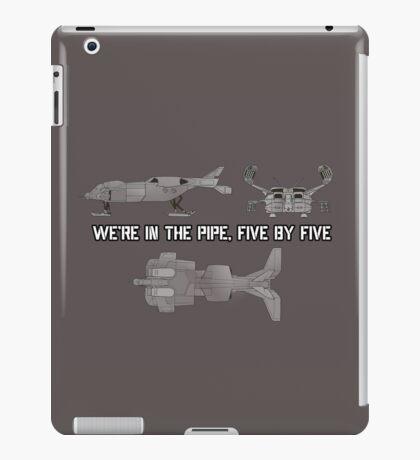 "Dropship - ""Five By Five"" [Aliens] iPad Case/Skin"