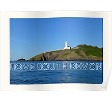 Love South Devon  Poster
