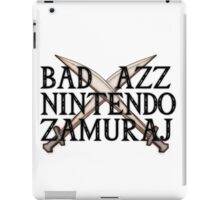 Nintendo samuraj! iPad Case/Skin