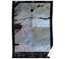 New York NY Sargent Ponds 20100415 TM Inverted Poster