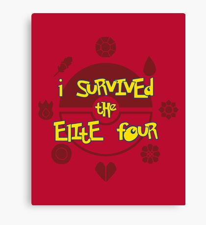 I Survived the Elite Four Canvas Print