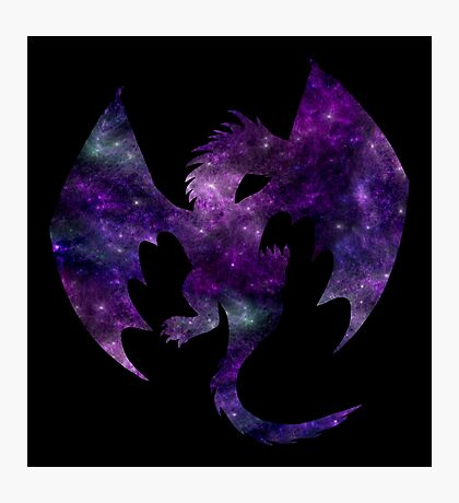Galaxy Dragon Photographic Print