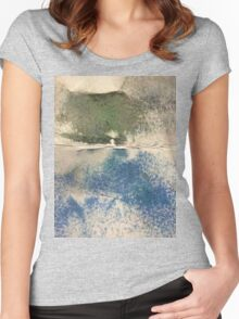 Smudges in Oil Pastel Women's Fitted Scoop T-Shirt