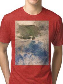 Smudges in Oil Pastel Tri-blend T-Shirt