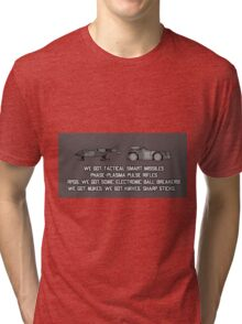 "Colonial Marines Tech - ""We Got"" [Aliens] Tri-blend T-Shirt"