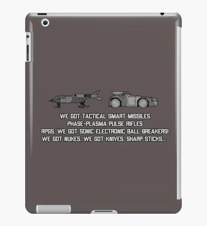 "Colonial Marines Tech - ""We Got"" [Aliens] iPad Case/Skin"