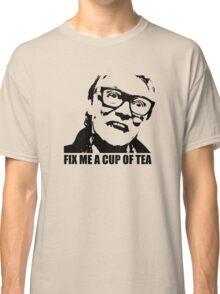 Snatch Brick Top Fix Me A Cup Of Tea Tshirt Classic T-Shirt