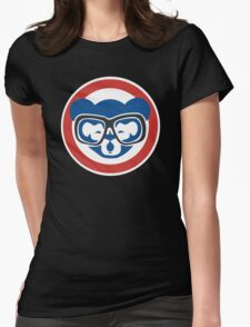 Hey, Hey! Cubs Win! Womens Fitted T-Shirt