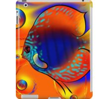Discuremia V1 - abstract digital artwork, printable digital painting iPad Case/Skin