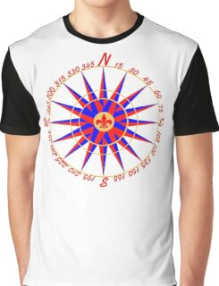 Compass rose Graphic T-Shirt