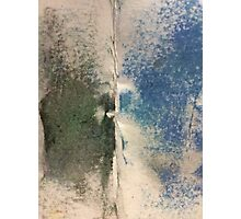Smudges 2 in Oil Pastel Photographic Print