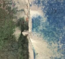 Smudges 2 in Oil Pastel Sticker